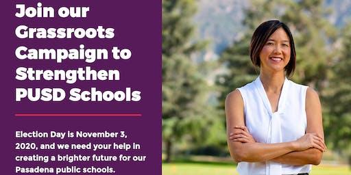 Tina For PUSD School Board Campaign KickOff