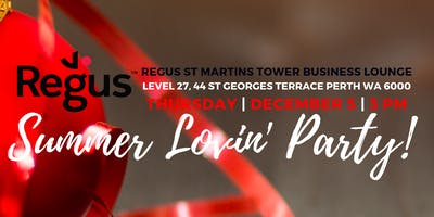 Summer Lovin' Party at Regus St Martins Tower