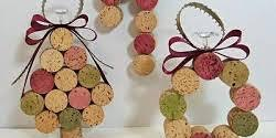 Cork Ornament Crafting Party