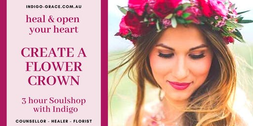 Create a Flower Crown - Healing Soulshop