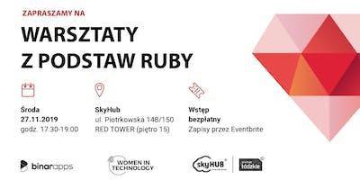 Warsztaty z podstaw Ruby