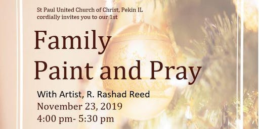 Family Paint and Pray