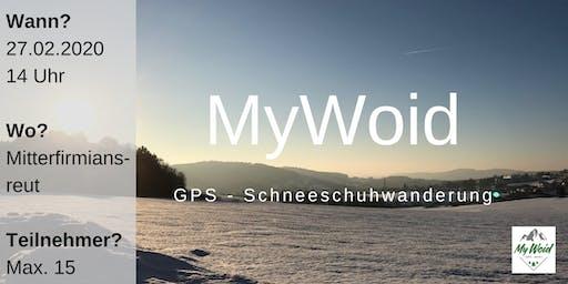MyWoid GPS-Schneeschuhtour