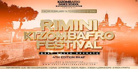 Rimini Kizombafro Festival meet Salsa/bachata/4th Edition biglietti