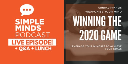 Simple Minds Podcast Live Episode + Goal Setting Workshop