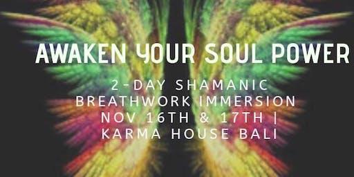 Awaken Your Soul Power: 2 Day Shamanic Breathwork Immersion