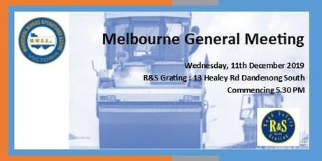MWOA Melbourne Branch Meeting (hosted by R&S Grating) tickets