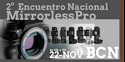 Logo for event 2º Encuentro Nacional Mirrorless Pro 2019 BCN