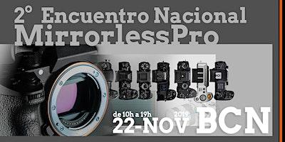 Logo for event 2º Encuentro Nacional Mirrorless Pro 2019 BCN