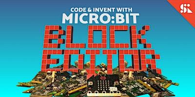Code & Invent with Micro:bit Block Editor, [Ages 7-10], 12 Jan - 08 Mar (Sun 9:30AM) @ Bukit Timah