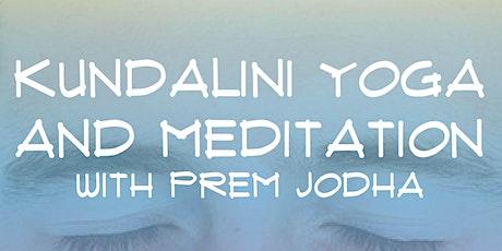 Kundalini Yoga and Meditation with Prem Jodha tickets