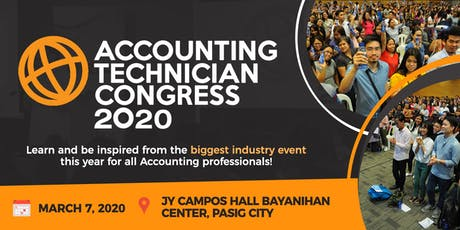 Accounting Technician Congress 2020 tickets