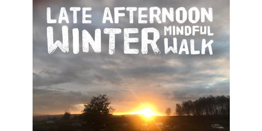 Winter Mindful Walk with Fiona Watson Mindfulness