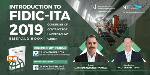Hochiminh (Vietnam): FIDIC-ITA Conditions of Contract for Underground Works (Emerald Book 2019)