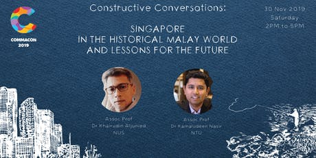 Singapore in the Historical Malay World and Lessons for the Future tickets
