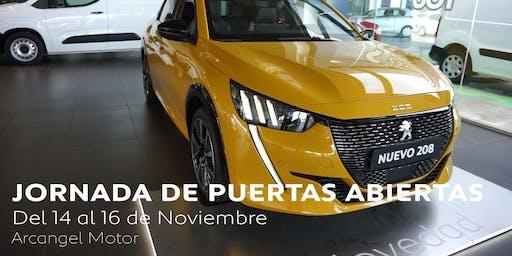 Jornadas de puertas abiertas presentacion Nuevo Peugeot 208