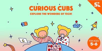 Curious Cubs: Explore the Wonders of Tech, [Ages 5-6], 12 Jan - 08 Mar (Sun 1:00PM) @ Bukit Timah