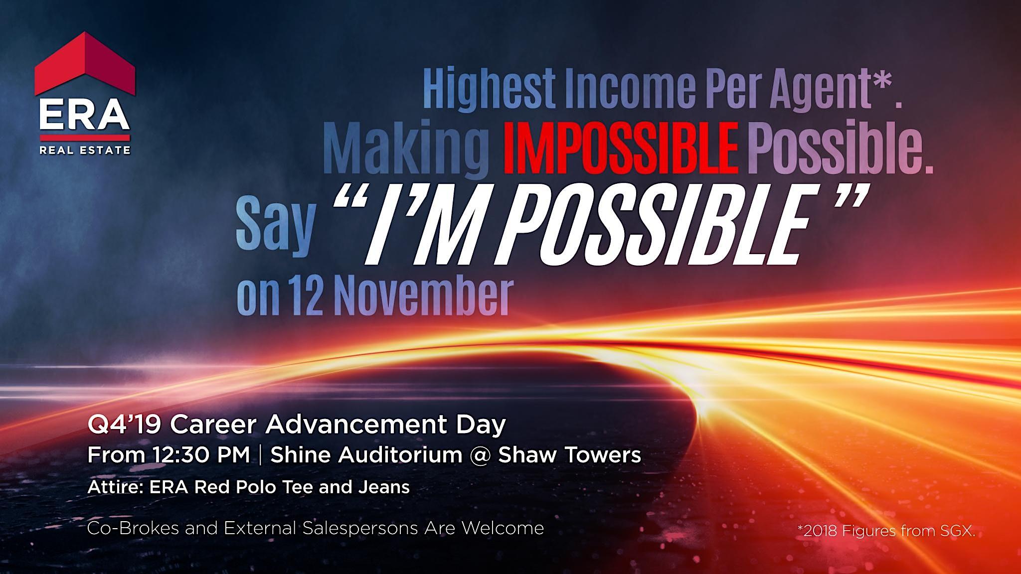 Q4'19 Career Advancement Day