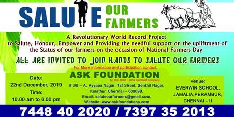 BUSSINESS MEET - WORLD RECORD PROJECT - SALUTE OUR FARMERS tickets