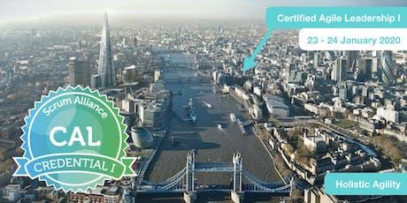 Certified Agile Leadership (CAL I) tickets