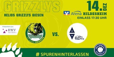 Helios GRIZZLYS Giesen vs. Hypo Tirol Alpenvolleys Haching Tickets
