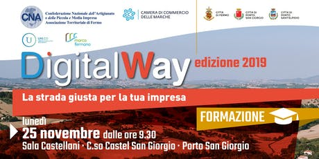 Digital Way - La strada giusta per la tua impresa biglietti