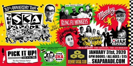 Ska Parade 30th Anniversary Tour @ Beehive Social Club tickets