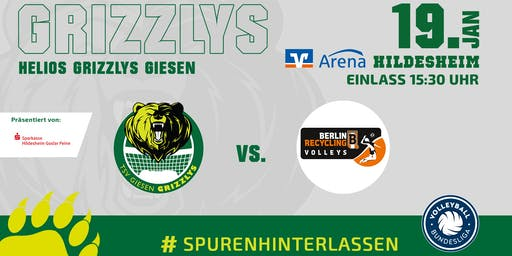 Helios GRIZZLYS vs. BR Volleys