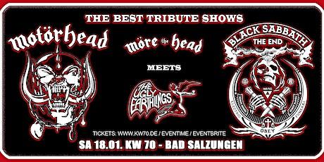 Motörhead meets Black Sabbath Tribute Show's / KW 70 Tickets