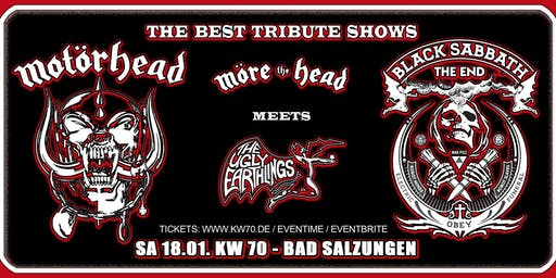 Motörhead meets Black Sabbath Tribute Show's / KW 70