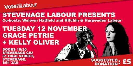 Stevenage Labour Party Presents: Grace Petrie & Kelly Oliver