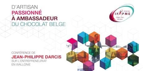 D'entrepreneur passionné à ambassadeur du chocolat belge billets