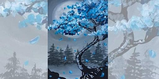 Brew N Brush: Cherry Blossom