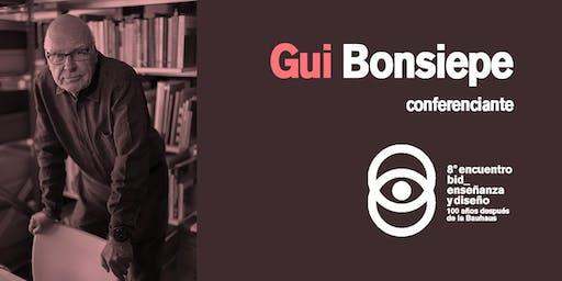 Conferencia Gui Bonsiepe_Reflexiones tempestivas sobre el diseño