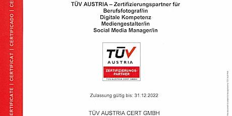 ISO 17024 Personenzertifizierung tickets