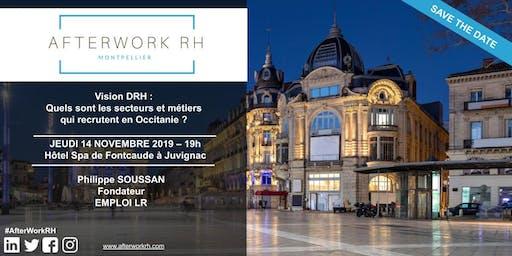 AfterWork RH Montpellier - Quels sont les secteurs et métiers en Occitanie?