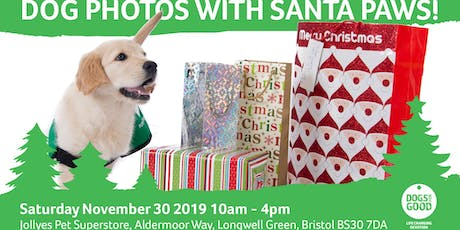 Santa Paws at Jollyes Bristol tickets