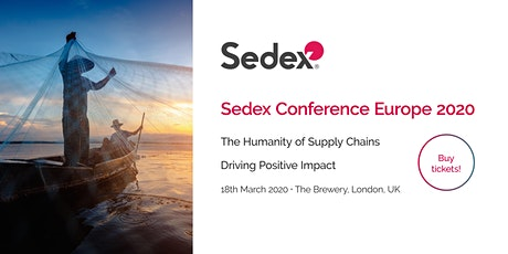 Sedex Conference Europe 2020 tickets