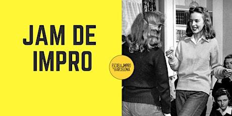 JAM de ESCUELA IMPRO BARCELONA, JUEVES 12 DE DICIEMBRE DE 20:00 A 22:00 entradas
