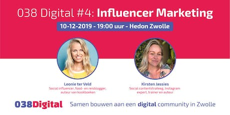 038 Digital #4 - Influencer Marketing tickets
