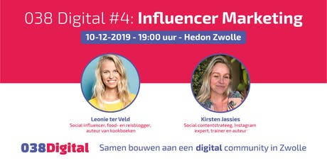 038 Digital #4 - Influencer Marketing tickets
