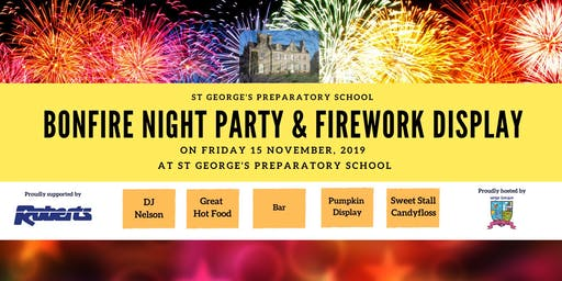 St George's Preparatory School Bonfire Night and Firework Display 2019