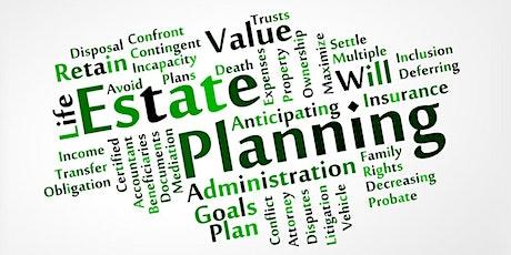 Estate Planning tickets