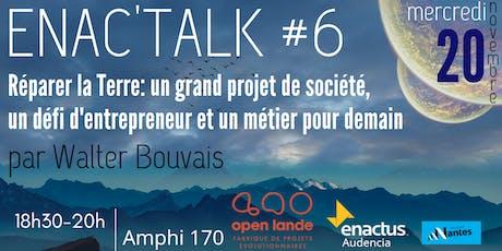 Enac'talk #6 - Conférence de Walter Bouvais billets