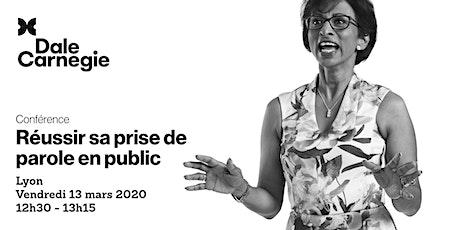 Réussir sa prise de parole en public - Conférence à Lyon billets