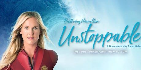 Bethany Hamilton: Unstoppable tickets