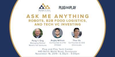 Ask Me Anything: Robots, B2B Food Logistics & Tech VC Investing