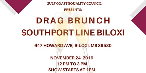 DRAG BRUNCH AT SOUTHPORT LINE BILOXI