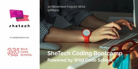 SheTech Coding Bootcamp #1 powered by Wild Code School tickets