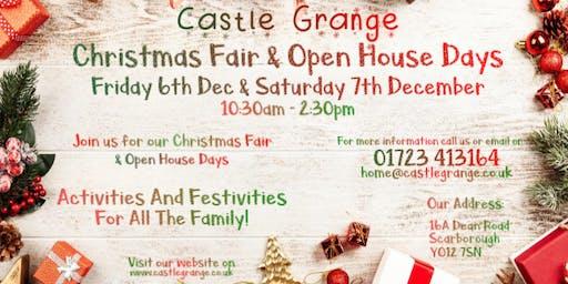 Castle Grange Christmas Fair and Open House Days